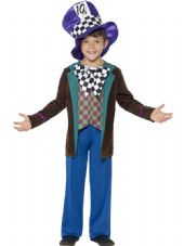 Childs Deluxe Hatter Costume